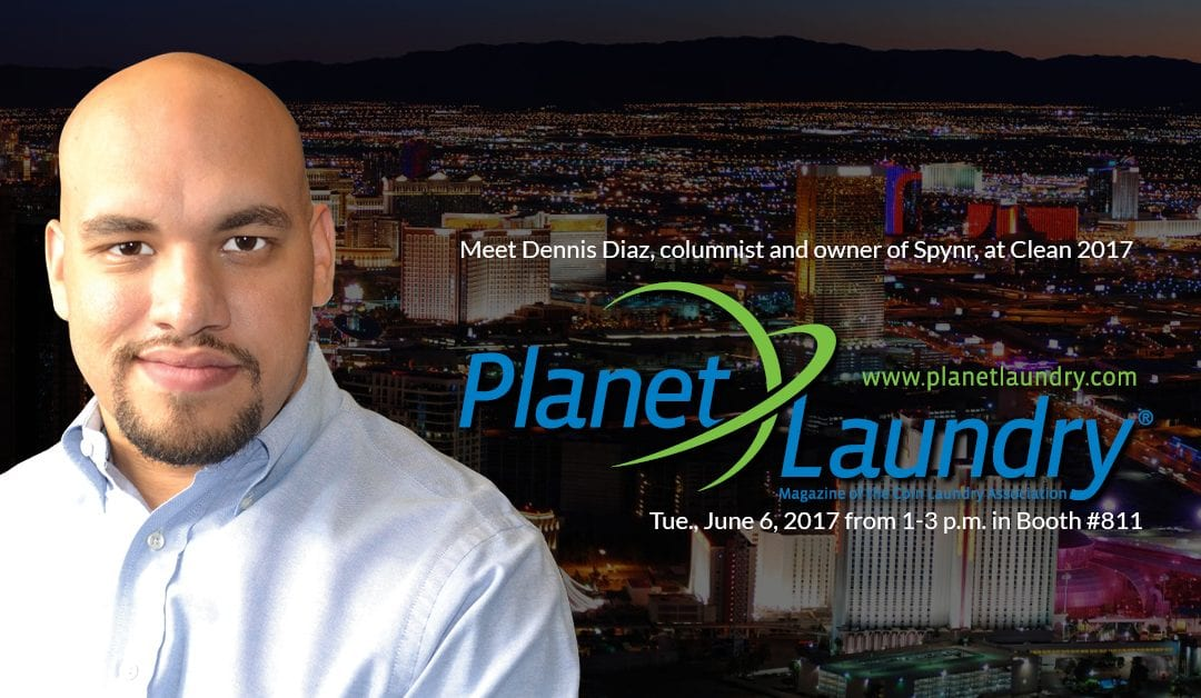 PlanetLaundry Presents Dennis Diaz of Spynr at CLEAN 17