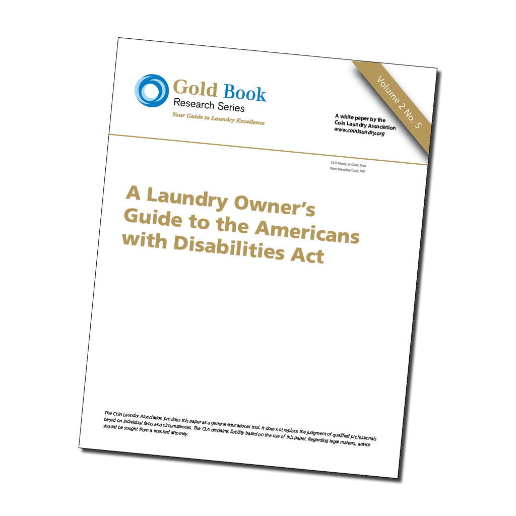 Laundry Owners Guide to ADA