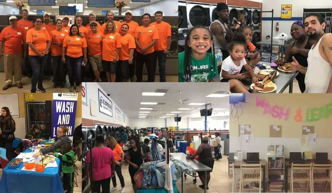 Free Laundry Day Detroit Served Hundreds From the Local Community