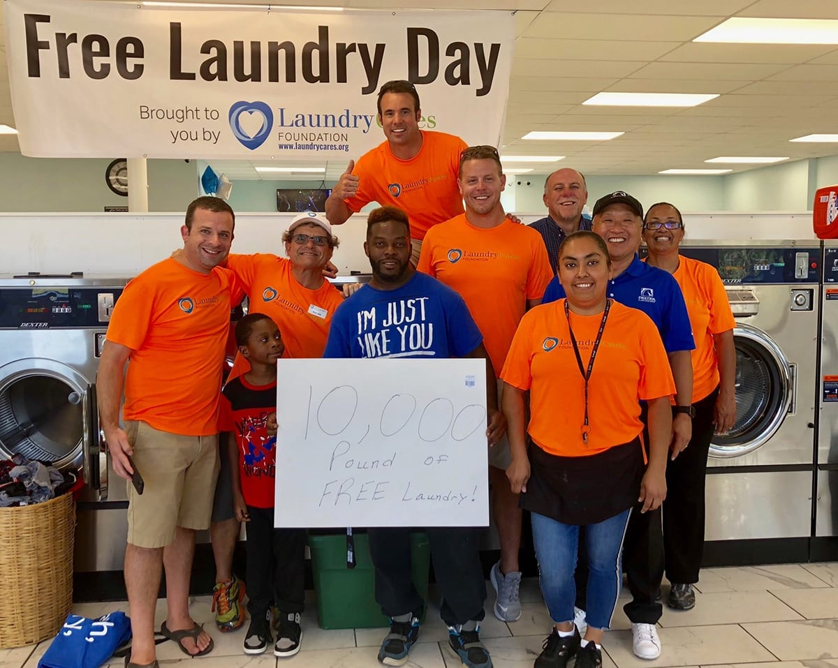 Free Laundry Day at The Wash House Fayetteville, NC